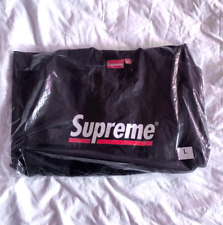 Supreme Underline Crewneck Black