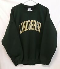 LINDBERGH Classic Crewneck Sweatshirt Size 2XL Green Cotton Blend
