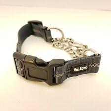 "Wellbro Martingale Collars Dogs, Dog Training Collar, Reflective 14""-17"" X 1"""