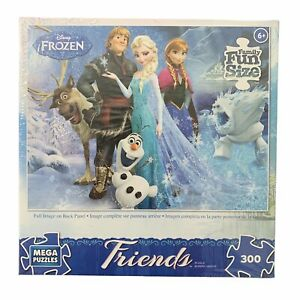 "Disney Frozen ""Chillin in the Sunshine"" Poster Puzzle | MEGA | 300 Pc | Complete"