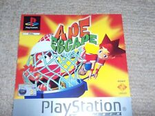 APE ESCAPE  – Sony PS1 Front Art Inlay
