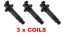 "SEADOO NEW 4TEC IGNITION COIL ""SET OF 3"" GTX RXP RXT GTI 296000307 420664020"