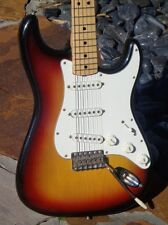 "1971 Fender Stratocaster the ultimate 4-Bolt Maple neck ""Richie Blackmore"" model"