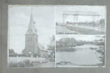 Neg3093/ Basbeck Kirche Fähre altes Negativ 40/50 Jahre