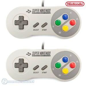 SNES - 2 official Nintendo gamepad SNSP-005