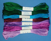 Empress Silks Embroidery Thread 7 Colors to Choose From