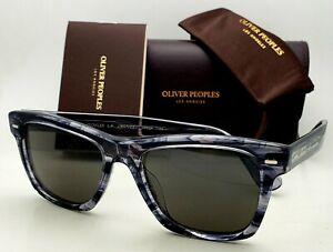 OLIVER PEOPLES Sunglasses OLIVER SUN OV 5393SU 1688R5 Navy Smoke Wayfarer Frames
