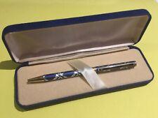 Vintage 2000s Jaguar Etched Body Ballpoint Pen, Blue Ink, New In Case