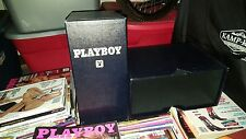LOT OF TWO (2)  PLAYBOY MAGAZINE BOXES / HOLDERS (HOLDS 12 to 24 issues each)