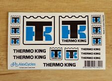 THERMO KING Tamiya 56319 14th Scale 1/14 Reefer Trailer Decals Stickers Kit Set