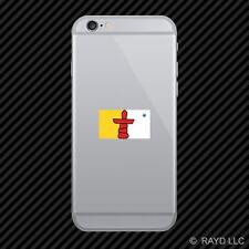 Nunavut Flag Cell Phone Sticker Mobile Die Cut Canada nu province