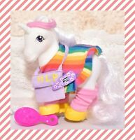 ❤️My Little Pony G1 VTG Flashprance Dance Rainbow Pony Wear Clothing Outfit❤️