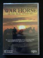 *New Sealed* War Horse - The Real Story (DVD) WW1 Documentary  Region 4