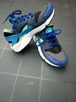 Nike Air Huarache Blue/Green/Black UK 6 unisex boys girls ladies men women