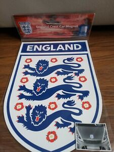 England Football England Crest Car Magnet Brand New
