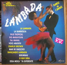 PAT BENESTA LAMBADA AFRO CHEESECAKE COVER FRENCH LP DISQUES ALINE