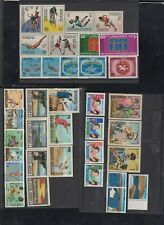 COLLECTION OF JORDAN STAMPS,