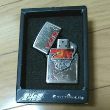 Zippo Oil Lighter Fist Of The North Star Silver Metal Anime Manga Japan F/S