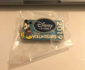 The Disney Store Cast Member Exclusive Voluntears 2019 Pin