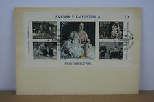 Swedish Film History First Day Cover 1981 Featuring Five Postage Stamps