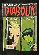 DIABOLIK N.277 ANNO 1989 PROFESSIONE:LADRA