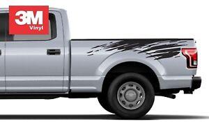 Mud Splash 2 Vinyl 3M Sticker Graphic Decal Stripe Truck Bed Chevy Colorado Ford