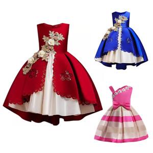 Vestidos Para Niñas Vestido De Princesa Vestido De Novia De Navidad Flor Dresses
