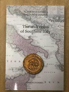 THE ARAB COINS of SOUTHERN ED. D'ANDREA DOPPIA LINGUA