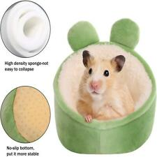 Hamster Mini Bed Warm Small Pets Animal House Bedding Cozy Nest Cage Accessories