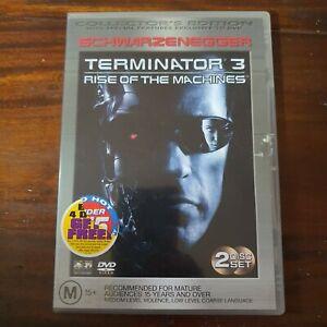 Terminator 3 Rise Of The Machines DVD 2-Disc Region 4 Arnold Schwarzenegger