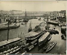 ND. Phot. France, Lisieux, Port Militaire de Brest, Le Pont Tournant  Retirage d