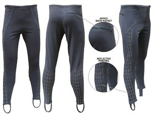 ACCLAIM Athens Mens Cycling Non Padded Polyester Stretch Fit Reflective Leggings