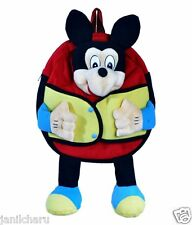 Play School Kids Bag Mickey Mouse Design MultiColored