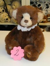 Charlie Bears Bär Teddy Plush Collection Lanson ca. 29cm groß (Nr.2)