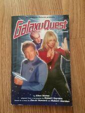 Galaxy Quest Junior Novelization Paperback Book w Color Photos
