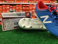 New Balance Visaro Control Fg Blue Soccer Cleats Size 2 New In Box