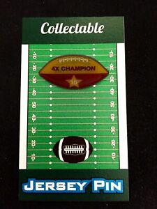 San Francisco 49ers Joe Montana football lapel pin-Classic Collectible