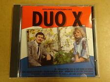 CD / DUO X - HOLLANDSE SUCCESSEN VAN