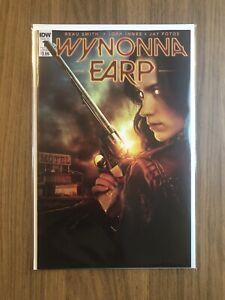 Wynonna Earp #1 Photo Cover Sub B - IDW 2016 - Beau Smith