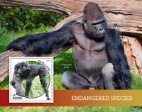 Sierra Leone - 2019 Endangered Species - Souvenir Sheet - SRL190218b