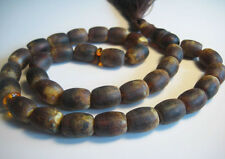 Raw Not Polished Islamic Prayer Baltic Amber 33 beads 32 grams !!!