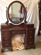 Davis Cabinet Company Mahogany Dresser Dated 1951