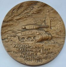General Maczek, Medal 1987, Battle of Falaise, Chambois, Normandy WWII, 70 mm