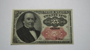 1874 $.25 Fifth Issue Fractional Currency Obsolete Bank Note Bill 5th Issue VF++