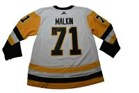 adidas Mens NHL Pittsburgh Penguins Evgeni Malkin Authentic Jersey NWT 46-60