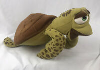 Disney Store Pixar Finding Nemo CRUSH the Sea Turtle Plush Toy Stuffed Animal 16