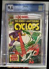X-MEN #45 (1968) CGC 9.0 ORIGIN OF ICEMAN AVENGERS CROSSOVER CLASSIC COVER