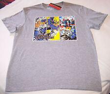 Transformers Comic Mens Grey Printed T Shirt Size XXS New