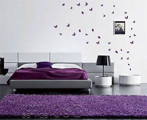 42 Butterfly Stickers (UP TO 42)  Wall Art Butterflies vinyl wall decal decor
