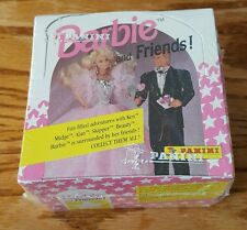 Barbie & Friends Trading Cards - 1992 Panini, 198 Cards, 15 Stickers box OOP NEW
